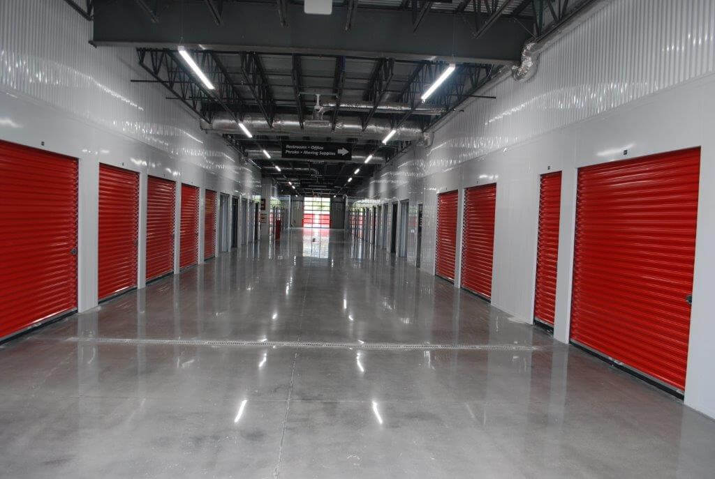 Self Storage with Indoor Drive-Thru
