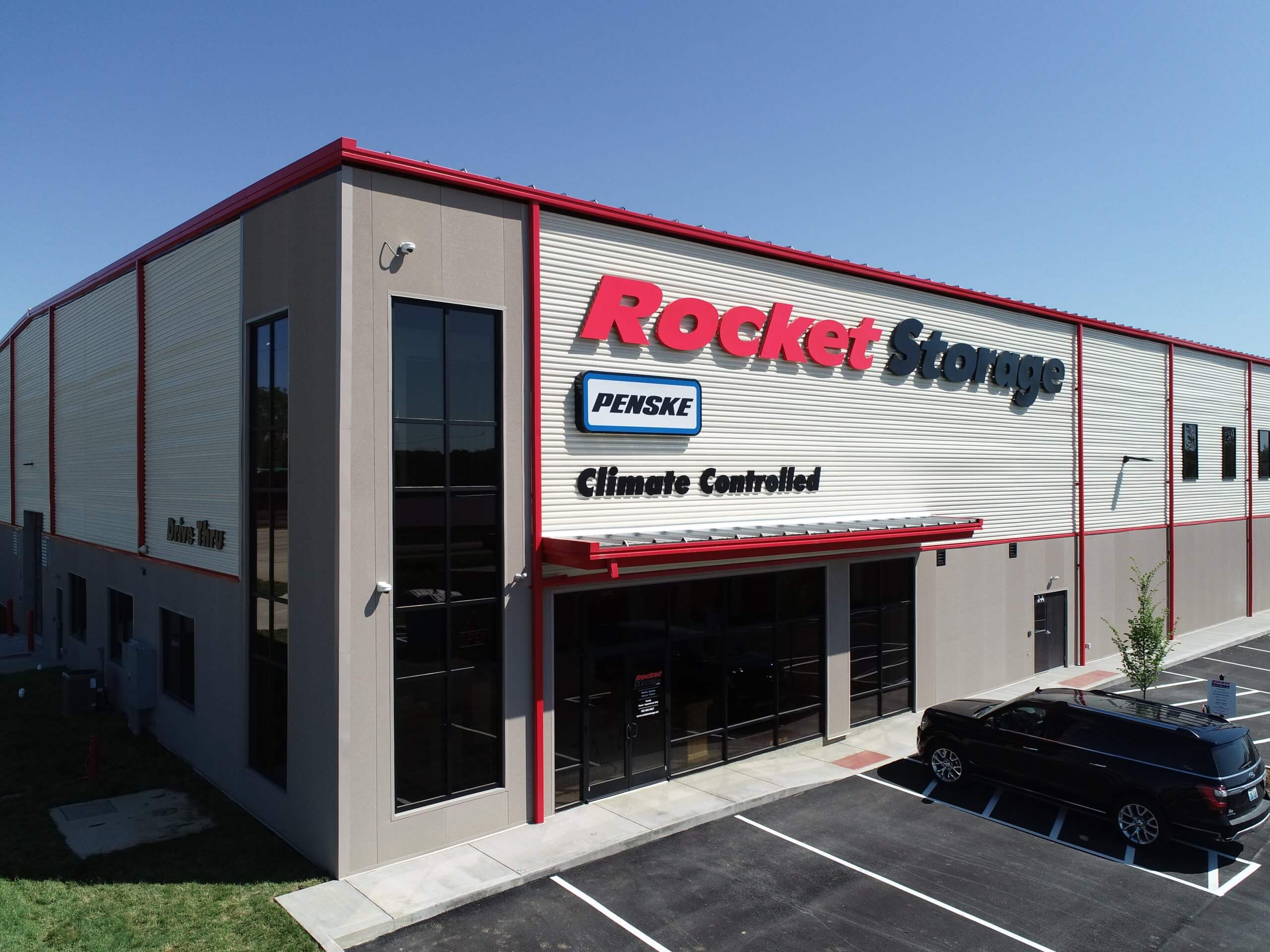Exterior of Rocket Storage rental office