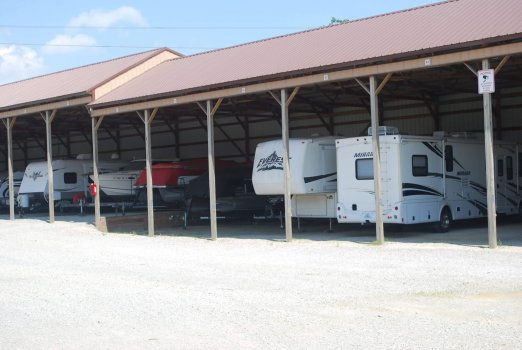 Covered storage units for boats, & RV's